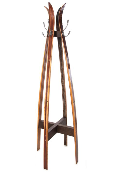 Antique Standing Coat Rack by Vintage Ski Free Standing Coat Stand