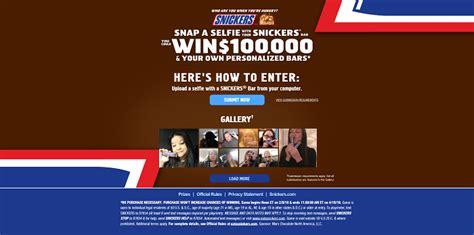 Snickers Sweepstakes - eatasnickers com snickers who are you when you re hungry game sweepstakes