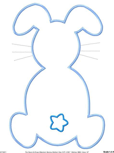 best photos of bunny head outline printable bunny head