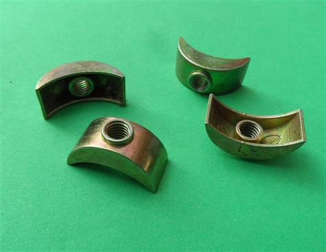 Bunk Bed Nuts And Bolts Bed Bunk Bolts Half Moon Lunar Nuts Washers 6mm Threaded Cast Zinc Yzp 2 4 8 Bulk Packs