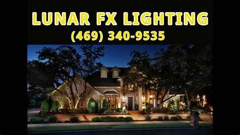 landscape lighting company plano dallas frisco mckinney