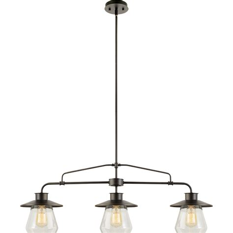 Globe Electric Company Moyet 3 Light Kitchen Island Kitchen Pendant Light