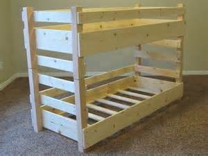 toddler bunk beds fits crib size mattresses or ikea