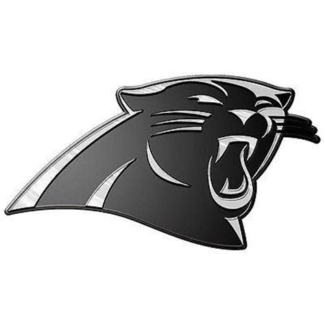 Auto Decals Thunder Bay by Carolina Panthers Logo 3d Chrome Auto Decal Sticker New