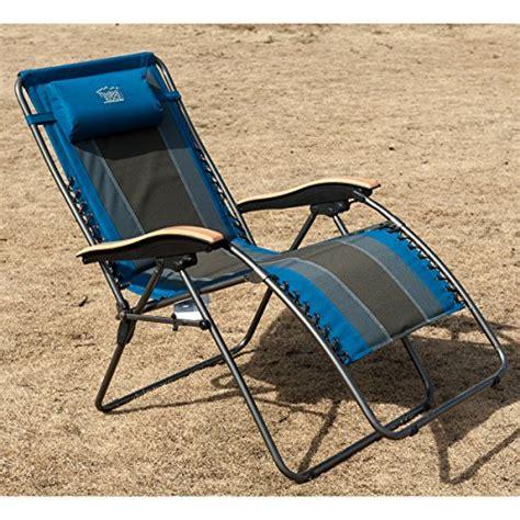 Padded Zero Gravity Chair by Timber Ridge Oversized Xl Padded Zero Gravity Chair Blue