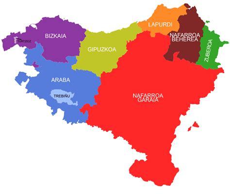 eta di vasco file euskal herriko mapa koloreztatua png wikimedia commons
