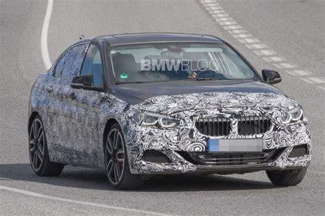 bmw m135i sedan bmw testing a 1 series sedan m performance in spain