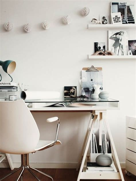 cool home office desks 20 feminine glass desks for modern workspaces house