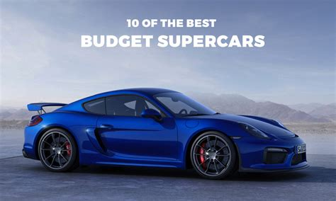 The Best Supercars You Can Buy on a Budget   Highsnobiety