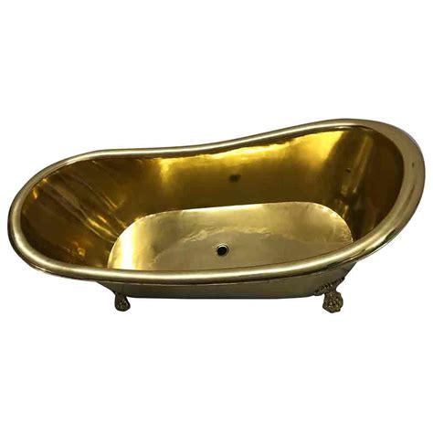 brass bathtub clawfoot brass bathtub vani crafts