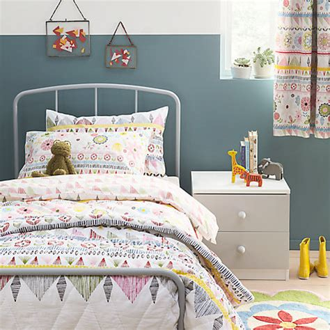 childrens curtains john lewis buy little home at john lewis geo pencil pleat blackout