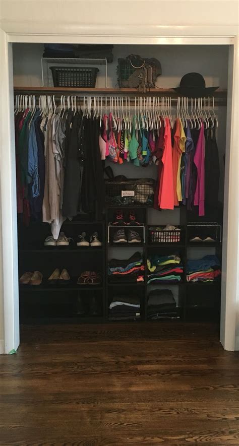 closet organization part 1 bedroom organized ohana 25 best ideas about apartment closet organization on