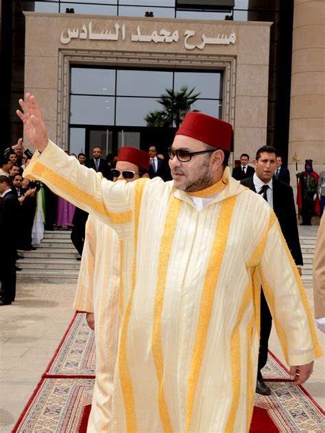 hm king mohammed vi inaugurates oujda mohammed vi theater