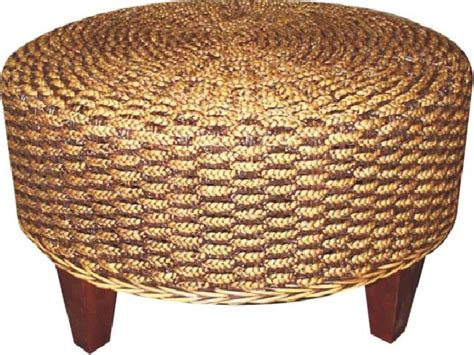 seagrass ottoman coffee tables ideas round seagrass coffee table ottoman