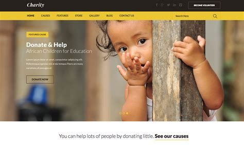 The Top 8 Nonprofit Website Templates No Coding Necessary Neoncrm Charity Website Design Templates