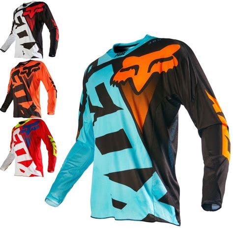 fox motocross jersey fox racing 360 shiv mens road dirt bike motocross