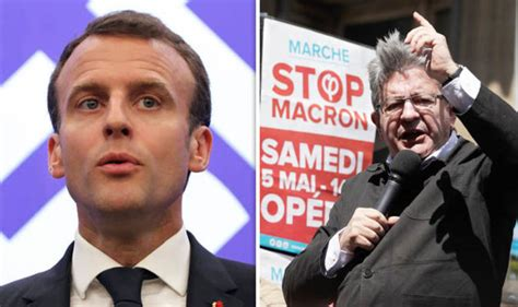 emmanuel macron opponent macron s threat radicals are best opponents for president