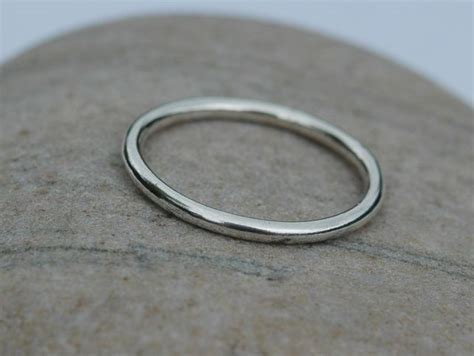 classic plain  sterling silver ring size  mans