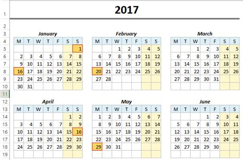 how to make a yearly calendar in excel 2010 free monthly yearly excel calendar template 2018 and