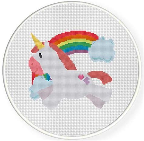 gear pattern of unicorn free unicorn cross stitch pattern craft pinterest