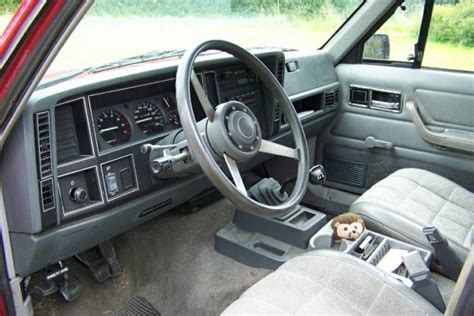 1988 jeep comanche interior well loved 1988 jeep comanche eliminator