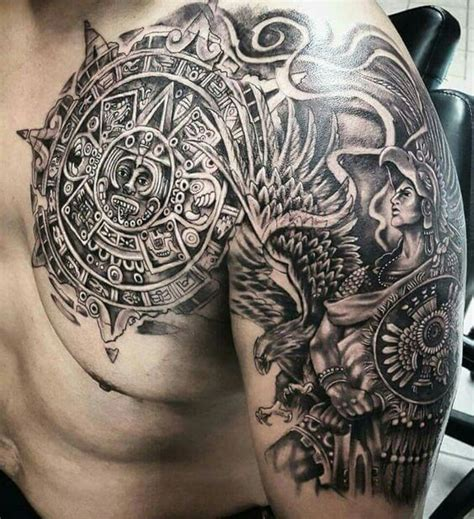 calendario azteca tattoo design 18 calendario azteca design black and grey