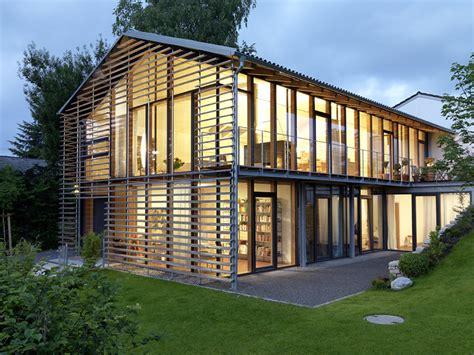2 Platz Satteldachhaus Mit Glasw 228 Nden Sch 214 Ner Wohnen