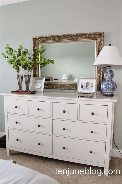 Ways To Decorate A Dresser by Ten June Put A Trim On It A Lshade Makeover