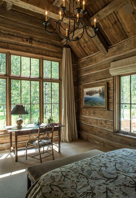 rustic wall treatments rustic wall treatment bedroom style with window