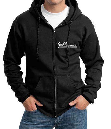 Hoodie Zipper Fender vintage fender keyboard logo zip up hoodie sw t shirt sizes sm ebay