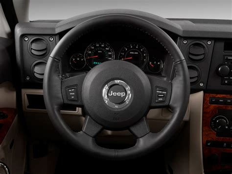 jeep steering wheel image 2009 jeep commander rwd 4 door limited steering