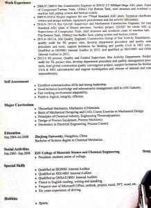 How To Lie On A Resume by Resumes Lie In China Shi China