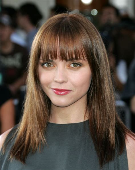 haircut for round face long hair with bangs hairstyles fringe bangs hairstyle for round face 2011