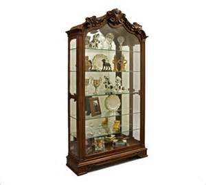 uses of console curio cabinets curio cabinets