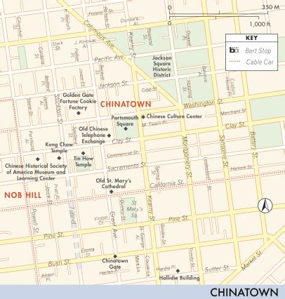 san francisco downtown map union square map of union square and chinatown union square and