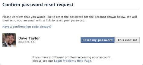 windows reset bad password count i forgot my facebook password now what ask dave taylor