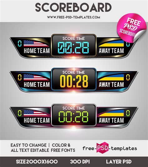 scoreboard vector for free download 22 scoreboard