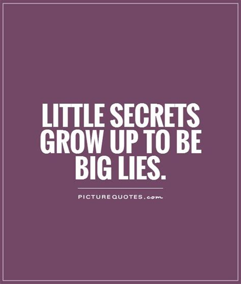 secret quotes quotes about lies and secrets quotesgram