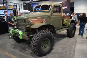 Power Wagon Dodge Sema 2016 Meet Quot Bootlegger Quot Daystar S 720hp 1941 Dodge