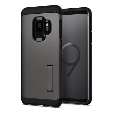 Spigen Tough Armor Samsung Galaxy S9 S9 Plus Black spigen 174 neo hybrid 592cs22859 samsung galaxy s9 pale dogwood spaceboy