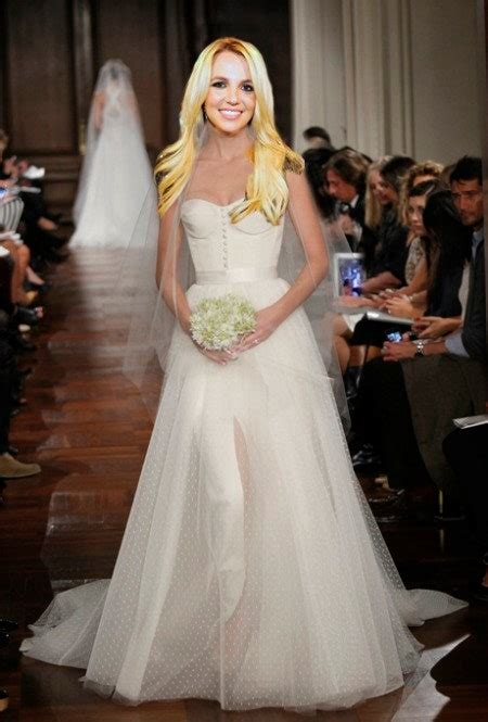 britney spears wedding dress  decide