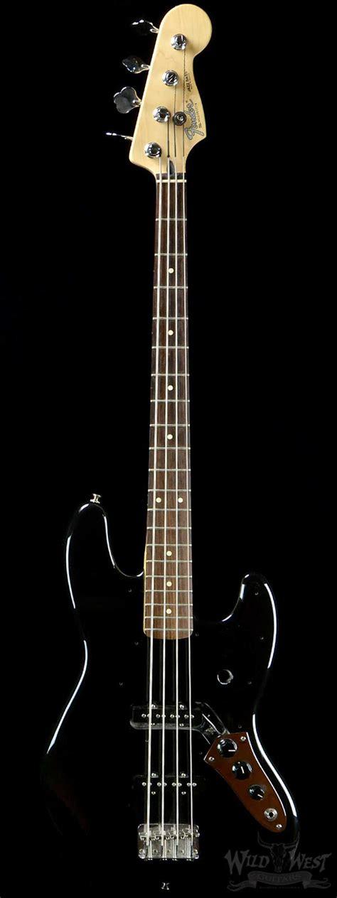 Bass Jazz Fender 1 fender mexican jazz bass black preowned west guitars