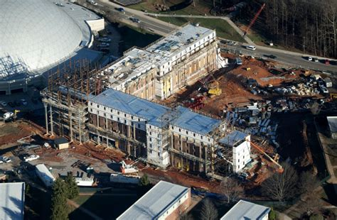 liberty university construction first of high rise dorms at lu under construction local