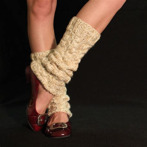 knitting pattern boot socks chunky cabled legwarmers boot socks free knitting pattern