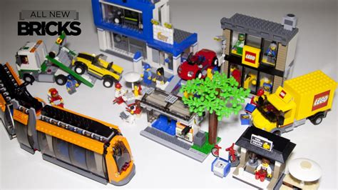 Lego 60097 City Square lego city 60097 city square speed build