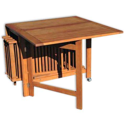 tavoli e sedie da esterno tavolo e sedie da giardino in legno praiano arredo