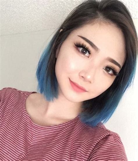 model rambut pendek sebahu  rambut tipis