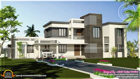 flat roof homes designs november 2012 kerala home 28 artistic contemporary house plans flat roof home