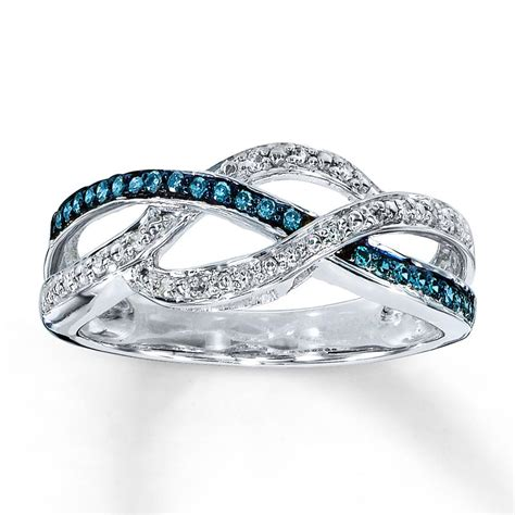 engagement rings with blue diamonds www imgkid the