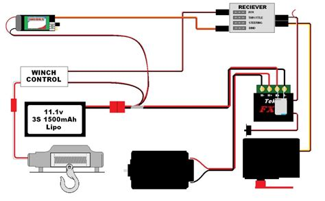 12 volt remote winch wiring diagram get free